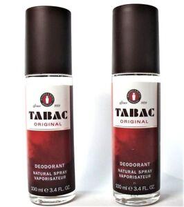 Tabac Original  Deodorant Natural Spray <> Zerstäuber  2 x 100 ml