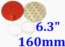 "6.3"" 160mm Diameter 12V 60W w/ 3M  w/ 120C Thermostat Factory Direct Sale Heater"