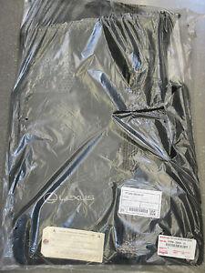 LEXUS OEM FACTORY FLOOR MAT SET 2007-2011 GS350, 2007-2011 GS450H 2WD (EBONY)