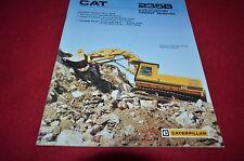 Caterpillar 235B Front Shovel Hydraulic Excavator Dealer's Brochure DCPA8