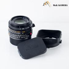 Leica Summicron-M 35mm/F2.0 ASPH/ 11879 Black Lens Germany #315
