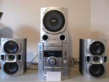 Sony Mhc-Gx470 400W 3-Disc Compact Shelf System with Cd-R/Rw/Mp3 Playback