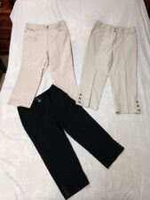 3 pc Sz 10 Lot Rafaella Women's Casual Business Capri Crops Pants