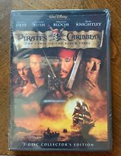 Pirates Of The Caribbean The Curse Of The Black Pearl DVD 2 Disc NEW & SEALED