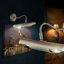 LED Bilder Leuchte Alt Messing Landhaus Stil Wand Lampe Spot Flur Diele Picture