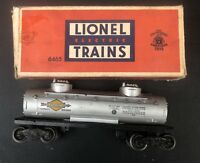 LIONEL 6465 TWIN DOME TANK CAR