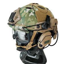 Custom FAST Tactical Bump Helmet + Electronic Earmuffs + ANSI Goggles + More