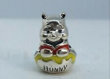 New Authentic Pandora Disney Winnie the Pooh Honey Pot Charm Bead 925 Silver