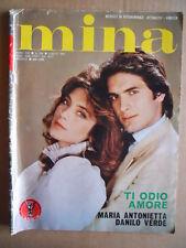 MINA n°256 1983 FOTOROMANZO edizioni Lancio  [G574]
