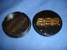 4x BBS LM SR RA Emblem Felgendeckel 56mm Schwarz Gold 3D 56.24.012 Felgendeckel