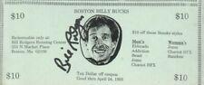 Bill Rodgers Autographed Boston Billy Bucks 1993 Famed Marathon Runner