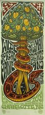 Widespread Panic Allman Brothers Charlotte 2009 Mondo Rare Poster S/N Mint