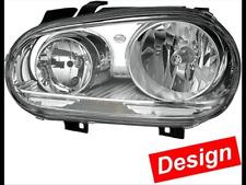 VW Golf 4 im 5er Optik Scheinwerfer Set Chrom  Linksverkehr