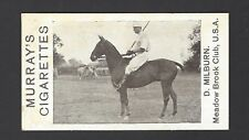 MURRAY - POLO PICTURES - D MILBURN, MEADOW BROOK CLUB, USA