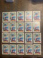 1989 Topps Craig Biggio Houston Astros #49 Baseball Card. 20 Card Lot