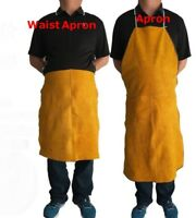 Split Leather Waist Welding Apron Soldering Protective Clothing Blacksmith