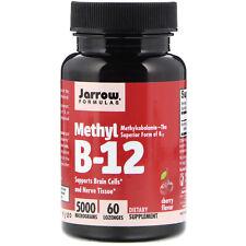 Jarrow, Methylcobalamin Vitamin B12 - 5000mcg x 60 lozenges