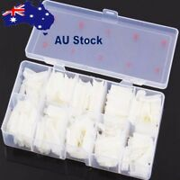 One Box Clear Solid Natural French False Acrylic Nail Art Tips UV Gel DIY AU