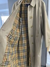Vintage Burberry Trench Coat Size L Unisex