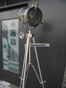 Floor Studio Lamp Spot Searchlight With Tripod Stand Electric Light
