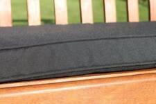 Garden Furniture Cushion- 3 Seater Garden Bench Cushion in Black