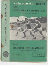 GAA 1971 All Ireland Football SF Offaly Cork Dublin