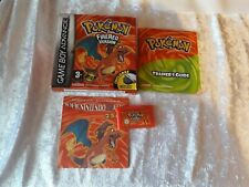 Pokemon Fire Red Verison Gameboy Boxed and Genuine