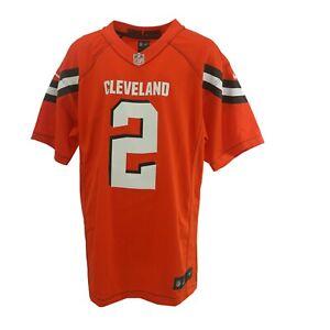 Cleveland Browns Jonny Manziel NFL Nike Children's Kids Youth Size Jersey New