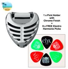 Guitar Pick Holder Plec Plectrum Holder With 6 FREE Electro Harmonix Picks