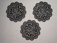 edible 15 doilies sugar lace flowers Anniversary cake BabyShower PARTY Birthday