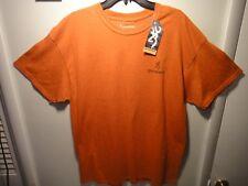 Browning Men's Short Sleeve T-Shirt Premium Quality Color Antique Orange Size XL