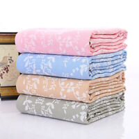 BLANKET PURE COTTON GAUZE SOFT SUMMER QUILT BLANKET SOFA CAR NAP TOWEL BLANKET