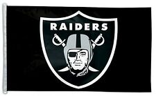 Oakland Raiders 3x5 House Flag [New] Nfl Banner Sign Fan Wall Man Cave