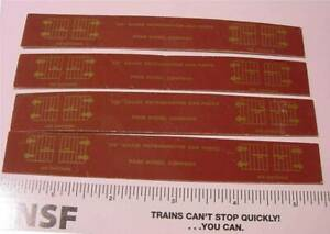 Refer Car Roof Parts Sets - (2) - Print Cardboard - Page Model Co - OO Scale