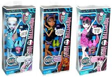 Monster High Dead Tired Wave 2 Abbey Clawdeen Wolf Draculaura 3 Doll Set!