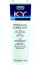 KY JELLY DUREX Non - Greasy SEX LUBRICANT 15g For Use with CONDOMS Love Making