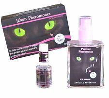 KIT  PERFUME FEROMONAS MUJER pheromone perfum ATRAE MHOMBRE JABON y PORTATIL