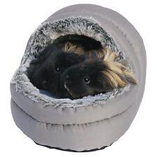 Rosewood Calin Deux Voies Avec Couvercle Confortable Lit Pour Animal Lapin
