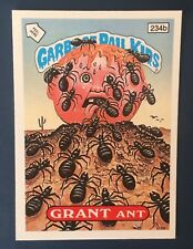 Grant Ant 234b Garbage Pail Kids UK Series 6(1987)Story Back ~ VGC ~ Rare