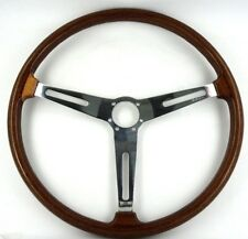 Genuine MASERATI MISTRAL ELLEBORO 400 mm VOLANTE bordo in legno. superbo! 8E