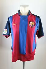 FC Barcelona Trikot Gr. M 2003-04 Nike Home jersey Spanien Shirt ohne Sponsor