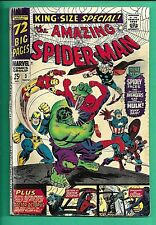 Amazing Spider Man King Size Special #3 Marvel 1966 Romita 4.0 Hulk Avengers Doc
