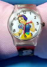 Disney Snow White Princess Children Kids Girls Quartz Wrist Watch Party Favor