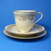Noritake FAIRVIEW Trio 3 Pieces Cup & Saucer Set Bread Plate 7263