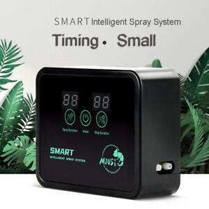Intelligent Electronic Reptile Timer Spray Rainforest Fogger Mist Humidifier Kit