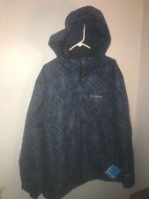 NWT Mens Columbia Hardpack Ski Printed Jacket (Retail $195.00) - XLarge
