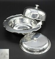 MAPPING AND WEBB MUFFIN DISH ENTREE SERVING DISH TUREEN SHEFFIELD SILVER PLATED