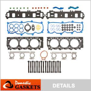 Fits 02-08 Ford Ranger Mazda B3000 3.0L Vulcan OHV Head Gasket Set Bolts VIN U V