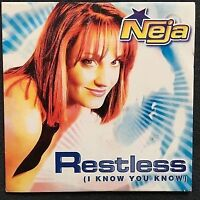 Neja CD Single Restless (I Know You Know) - France (EX/EX+)