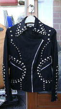 vintage studded jacket. as worn by.1960s / 1970s? designer inspiration stud